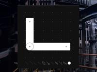 Letter L - CyberMunk Alphabet