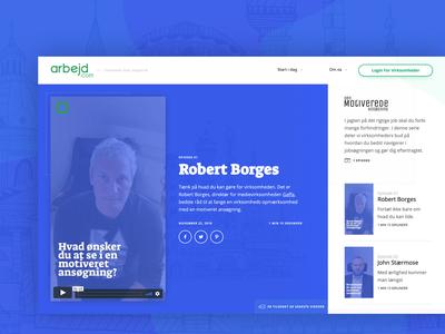 Arbejd dot com Stories