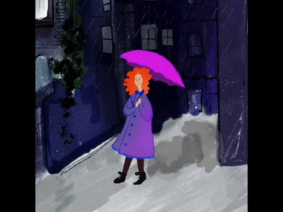 Procreate animation gif animation animaton colorful illustration design illustration hand drawn procreate