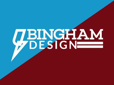 Bingham Design Logo binghamdesign graphic design logo