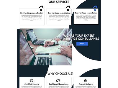 another website ui for a client design web website ux ui