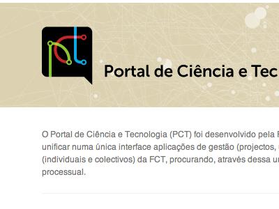PCT logo & website pct logo logotype website