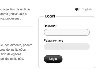 PCT form focus pct website form login clean css3 ftw!