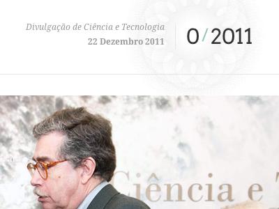 FCT Newsletter (1) newsletter institucional guilloche masthead