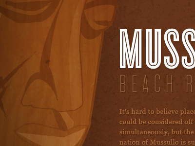 Mussulo brown illustration african textures wood cyclone