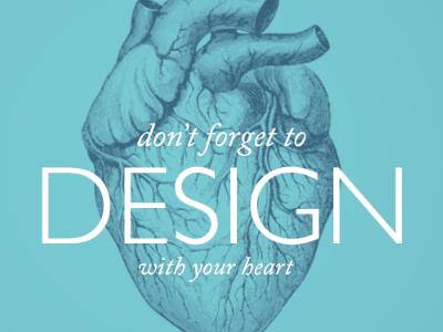 Important reminder heart design blue gill sans adobe caslon pro gravure gradient map