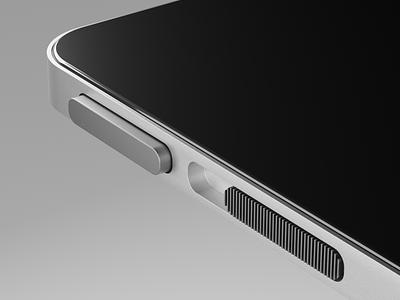 iPhone 12 Concept concept iphone12 industrialdesign apple render lowpoly cycles illustration 3d blender3d blender