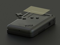 Blacked Out Game Boy!