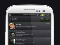 Whatsapp Redesigned (Android)
