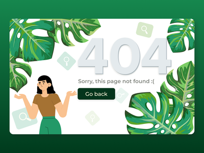 Daily UI 008 | 404 Page error page daily ui 008 illustraion 404 page 404 error page 404 design dailyuichallenge dailyui daily