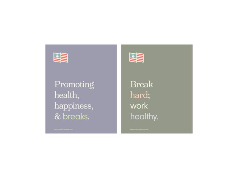 breakroom typography