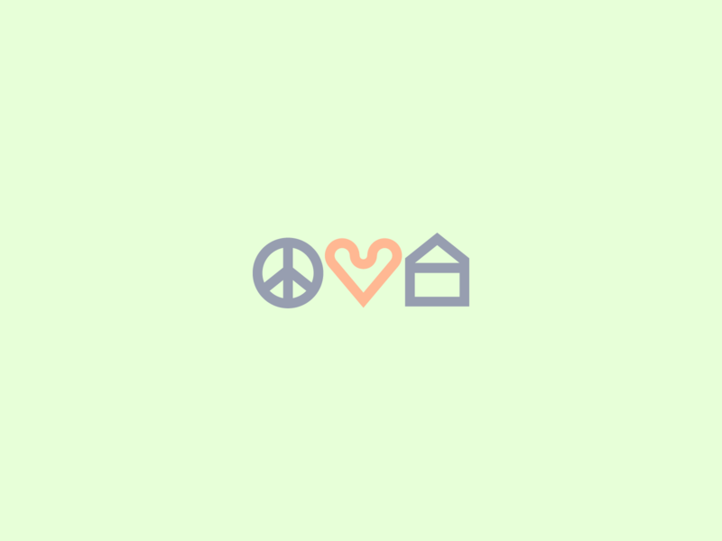 Peace, Love, and Stayin' Home