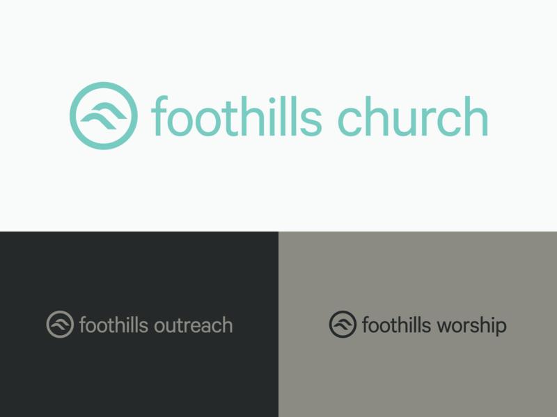 Foothills Church Wordmarks