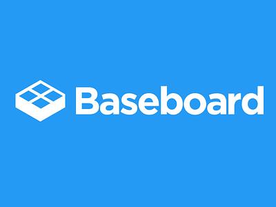 Baseboard Logo branding wip startup logo