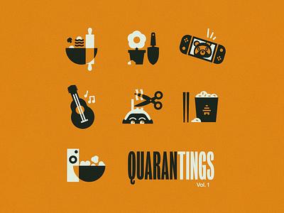 Quarantings Icon Set icon set illustration icons