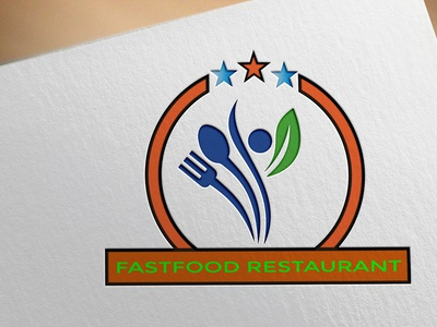 FASTFOOD RESTAURENT LOGO bishajit kumar restaurant logo real-estate logo beautiful logo custom logo modern logo unique logo creative logo business logo professional logo minimalist logo minilalist flat logo graphic design logo designer logo maker logo design logo branding design design