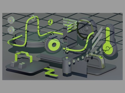 camera element-1 design setdesign spacedesign space shadow interior illustrations set scene camera 3dartwork 3dartist abstract graphic render blender 3d illustration 3d 3d art