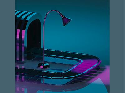 night folder diorama isometoric geometoric spacedesign render animation3d app motiongraphics abstract office 3dcg color animated animation setdesign modeling illustration design 3d art 3d