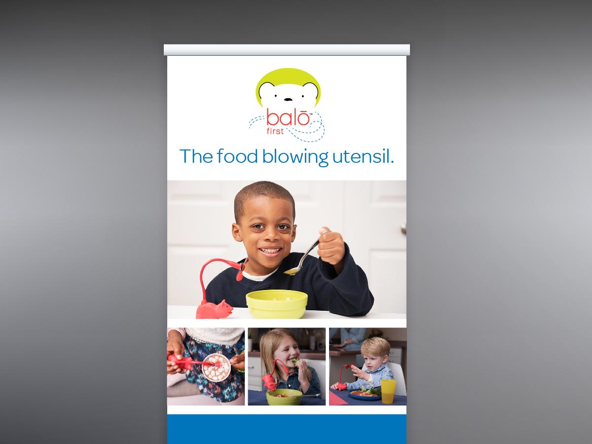 Balo First Retractable Banner 01 marketing display branding