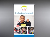 Balo First Retractable Banner 01 marketing display branding