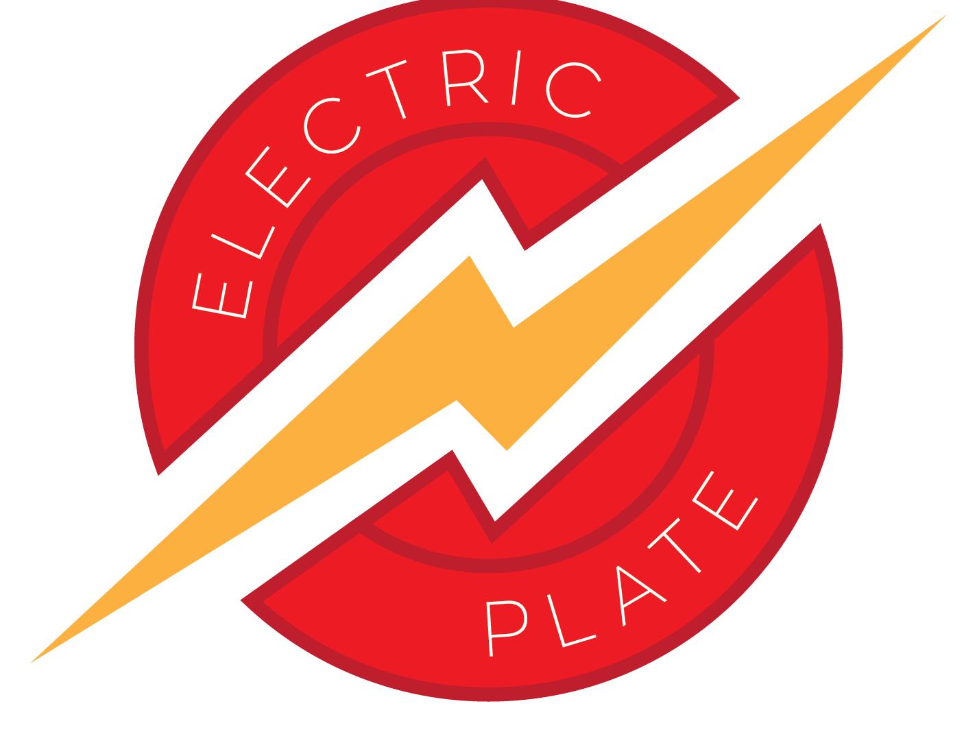 Electric Plate Official Logo 01 illustration logo design branding