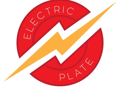 Electric Plate Official Logo 01 illustration logo design branding