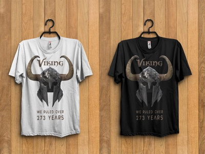 Viking ruler low poly t-shirt design proud black white trending artist exclusive feminine textile clothing vector print illustration mockup horn lowpoly vintage crown helmet warriors vikings