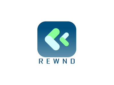 Daily Logo Challenge - Rewnd Logo logodesign icon design app icons app icon logo app icon daily logo daily logo challenge logo dailylogochallenge