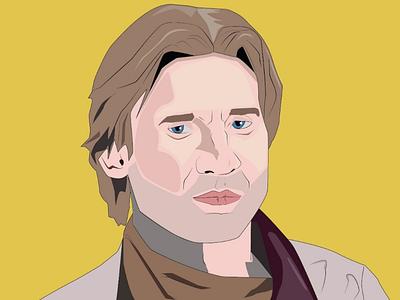 Jamie Lannister illustration adobe adobeillustrator illustration digital portrait gameofthrones jamielannister digitalart art