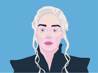 Daenarys  Targaryen, Mother of Dragons digitalarts digitalart art tv show gameofthrones got motherofdragons design illustration digital adobe illustrator illustration adobe