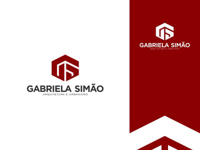 Gabriela Simão Arquitetura e Urbanismo sg gs red logo architect architecture