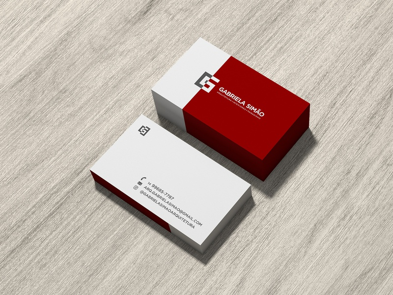 Business Card business card card branding logo architecture