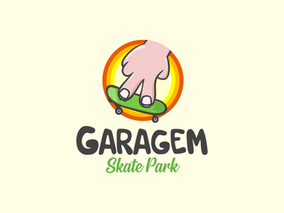 Garagem 2 toy garage fun hand finger skateboard skate