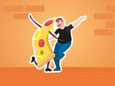 Vinny's Pizza Playoff - Pi Pi Pizza Land pizza