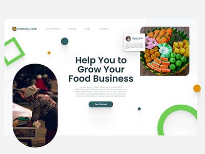 Financial Web UI website illustrator minimal web art flat branding ui graphic design design