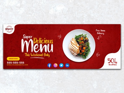 Restaurant Facebook Cover branding product design restaurant poster design restaurant banner design social media ads social media banner design social media post social media post design social media design restaurant post design restaurant facebook cover restaurant cover instagram stories design instagram post design facebook banner facebook stories design facebook ads design facebook cover design facebook post design facebook cover