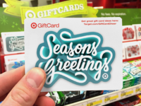 Seasons Greetings Target GiftCard