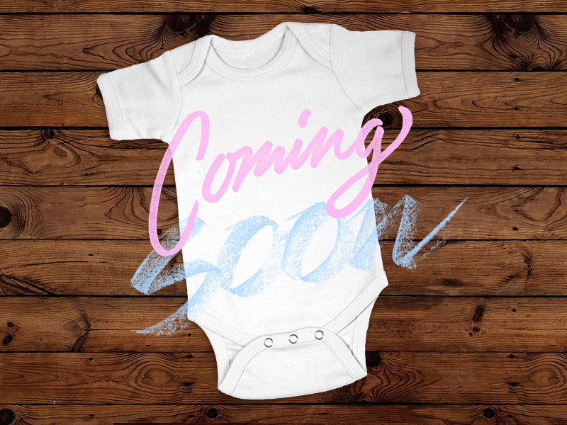 Coming Soon by Mike Greenwell Dribbble – Coming Soon Baby Announcements