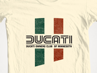 Ducati Owners Club Shirt A