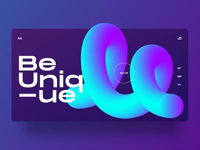 Exploration - Mosquitoes design artistic playful colorful logo 3d brand design m letter digital typography visual design ux ui bold minimal clean