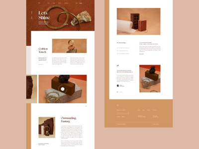 Gold minimal images jewelry artdirection fashion typography layout clean simple bold product design visual digital ux ui web