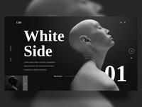 White Black Side