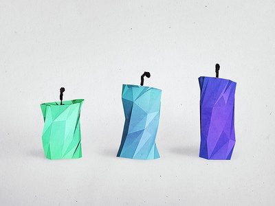 Candlend cinema 4d c4d 3d render cgi candle illustration lowpoly low poly