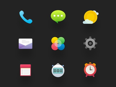 icon design in August 2014