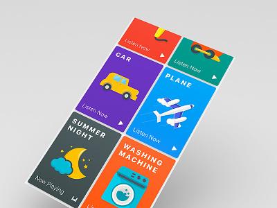 Babysoothe iOS App icon design ui ux app design ios app