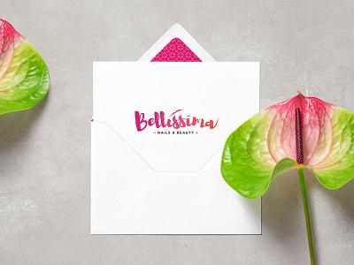 Bellissima Branding brand creation hair beauty nails branding logo