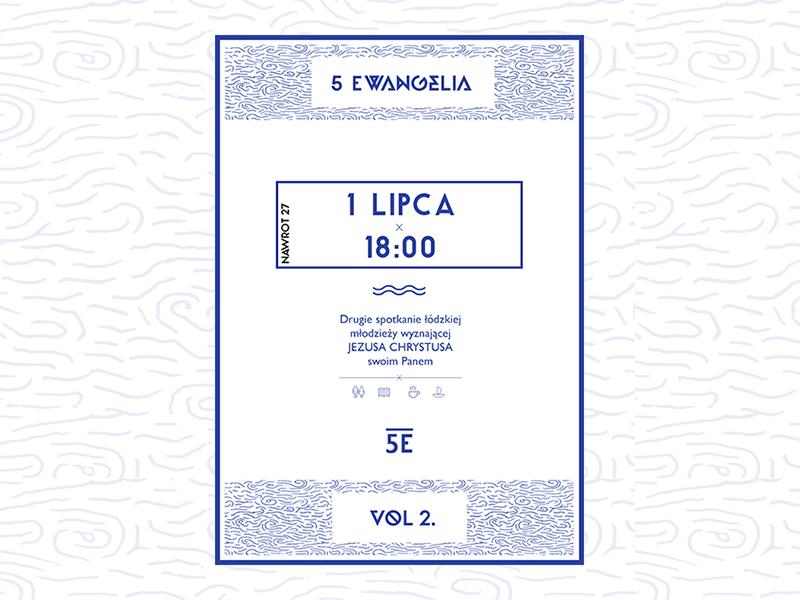 Poster - 5 Ewangelia 5 ewangelia poster lodz łódź poland polska keyners simple minimal