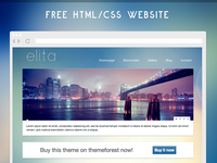 Elita - Free HTML/CSS webiste