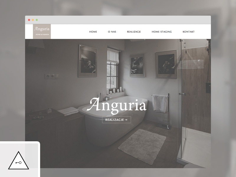 Anguria website onepage keyners html5 css3 jquery simple elegant layout interior design