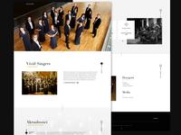 Choir website